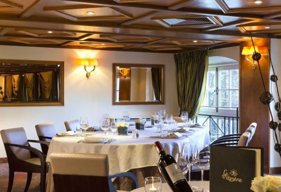Château de Montvillargenne_Gouvieux_restaurant mezzanine