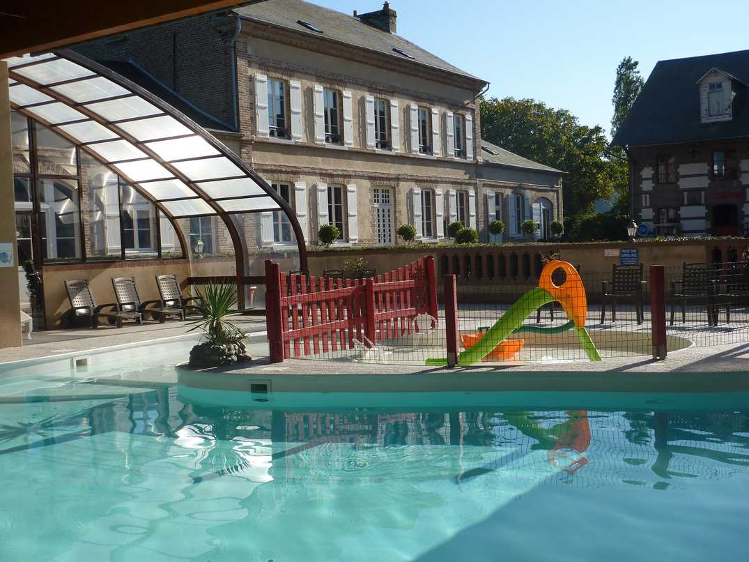Camping la baie de somme for Camping picardie piscine