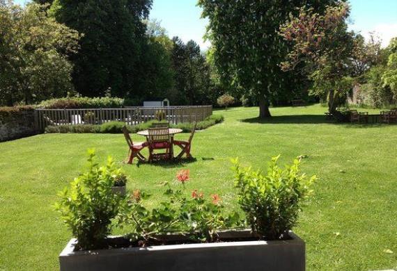 L'Aunette Cottage_Chamant_jardin