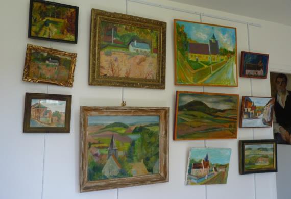 Musée Raymond Joly _ collection_peintures