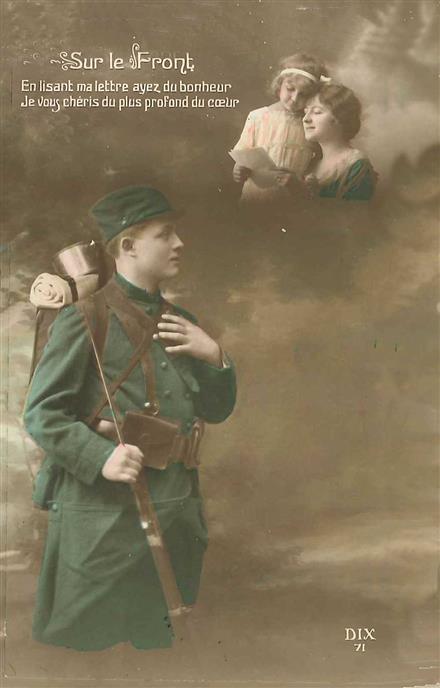 Carte postale 14-18 < Guerre 14-18 < WWI < Aisne < Picardie < France