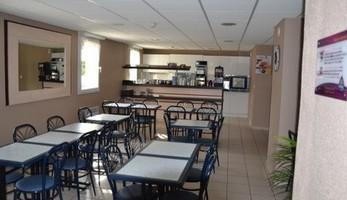 Akena City<salle petit déj<Friville Escarbotin<Somme<Picardie