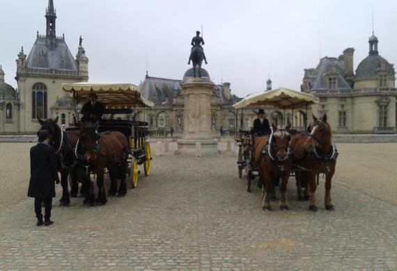 Chantilly-Les-Attelages-de-Sacy©Les Attelages de Sacy