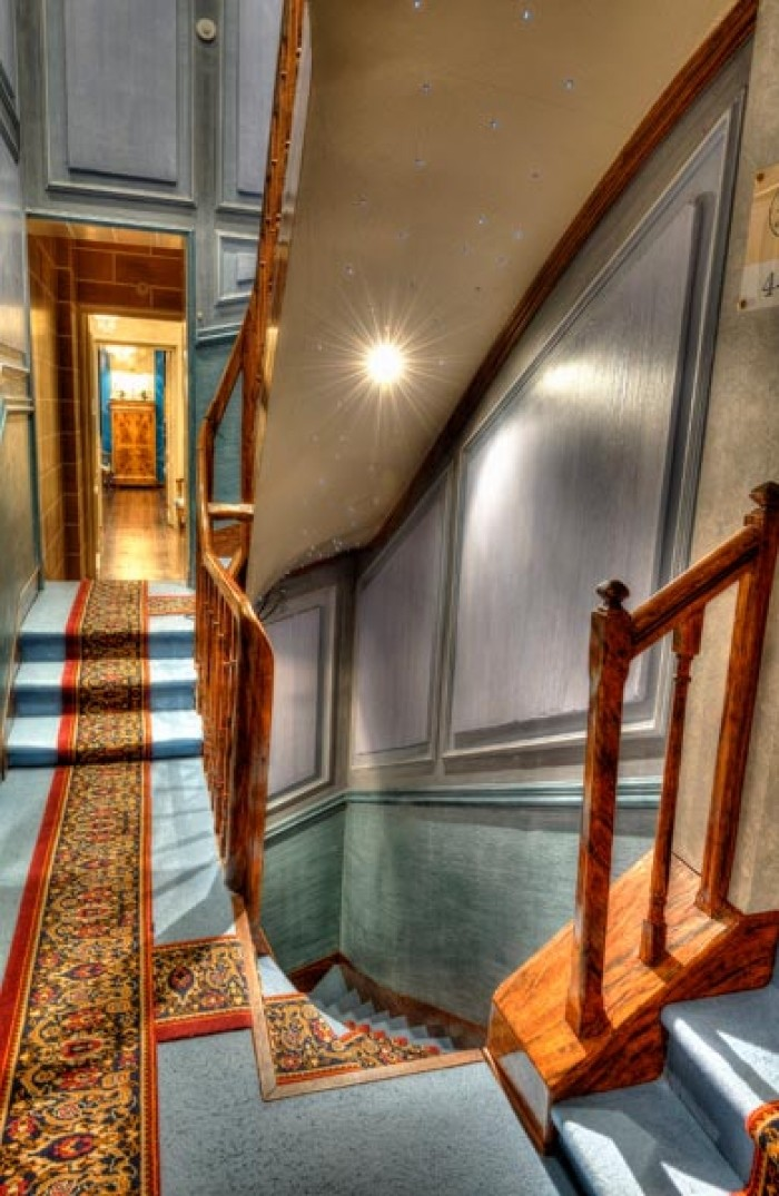 VillaAultia Hotel_escalier_Ault_Somme_Picardie