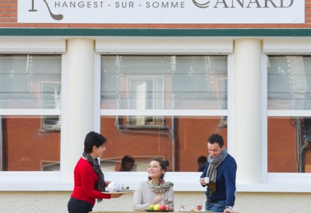 Le Canard_facade_Hangest sur Somme_Somme_Picardie