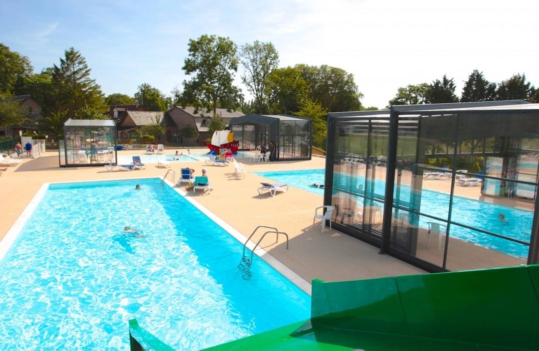Camping le domaine de drancourt s journer en picardie for Camping picardie piscine