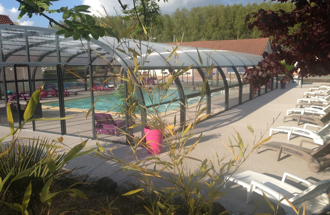 Camping des oiseaux for Camping picardie piscine