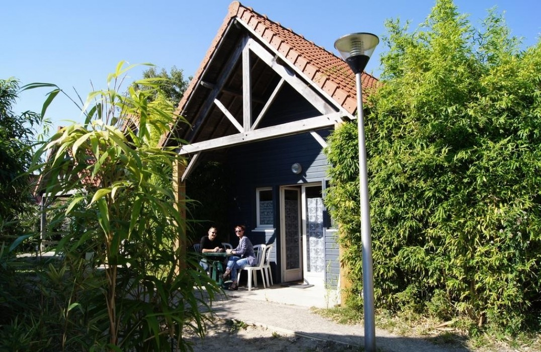 Naturotel_terrasse chalet_Fort Mahon_Somme_Picardie