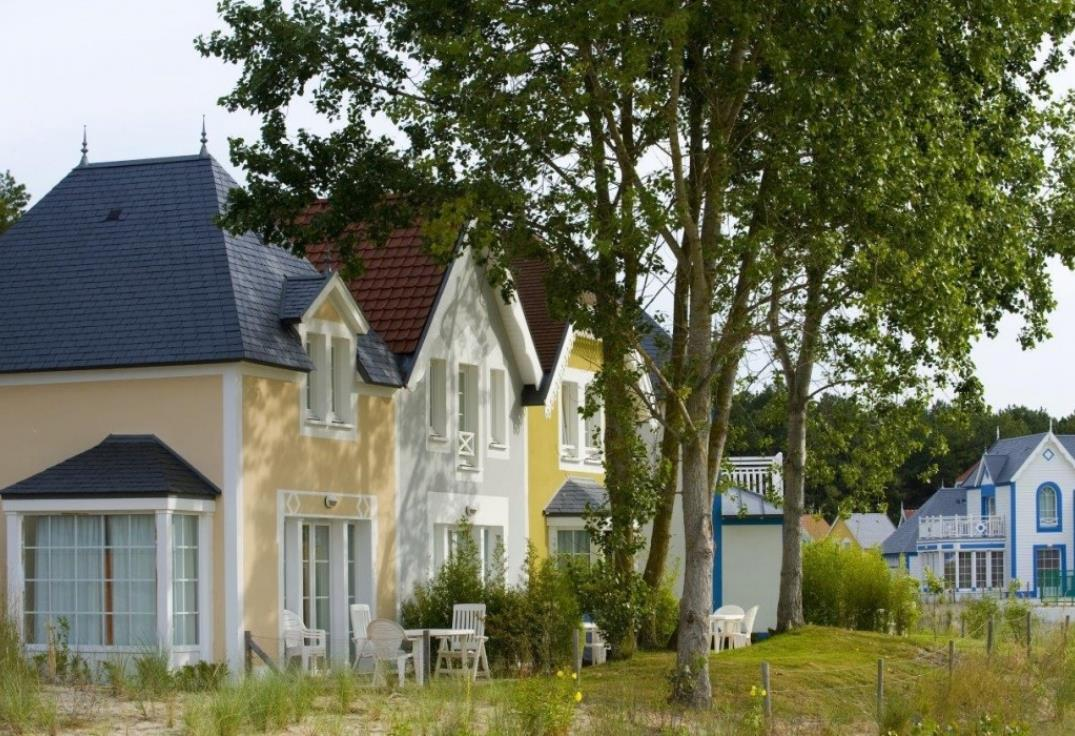 Belle Dune_maisons_Fort Mahon_Somme_Picardie