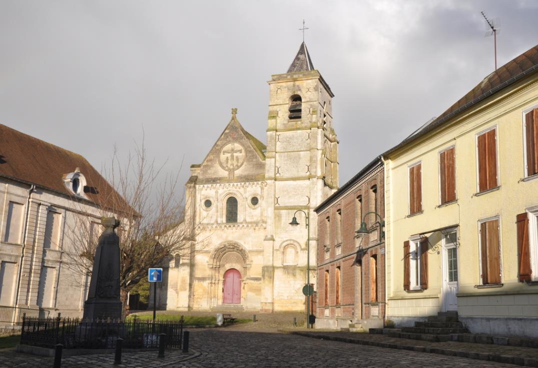 Eglise abbatiale Berteaucourt les Dames