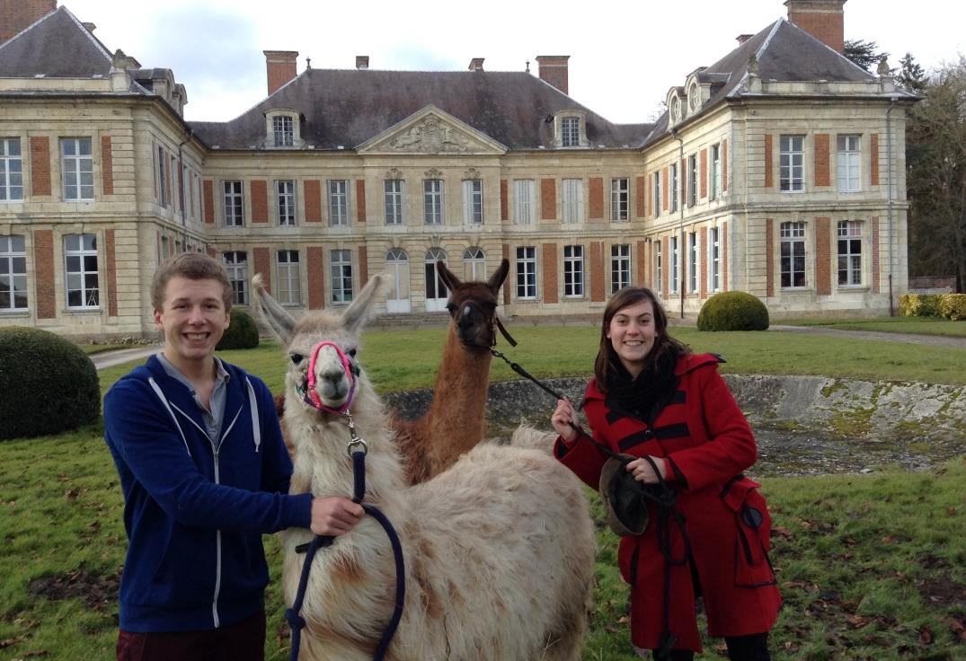 chateau_lama _ courcellessousmoyencourt_somme_picardie