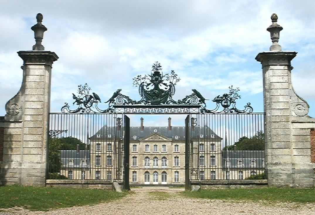 grilles chateau Bertangles